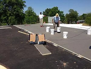 flat roof replacement windsor colorado